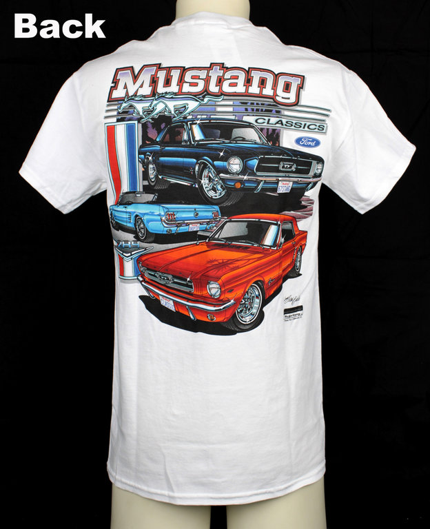t shirt ford mustang classic custom planet. Black Bedroom Furniture Sets. Home Design Ideas