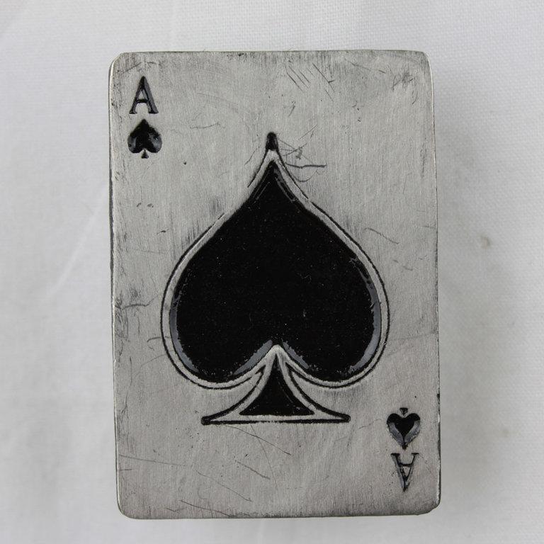 Pin Ace Of Spades Anstecker Mot 246 Rhead Button