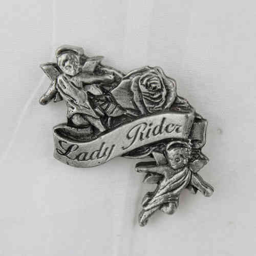 "Pin ""Lady Rider Angels"" Anstecker"