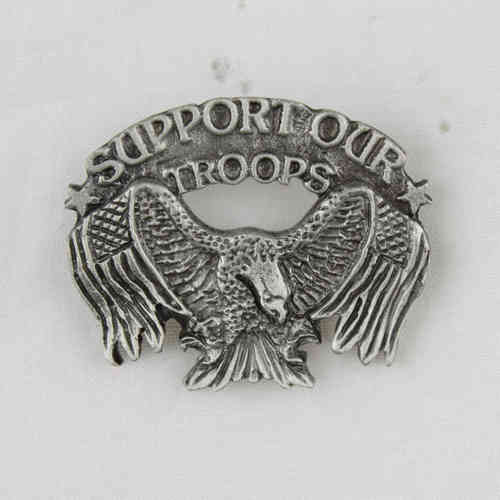 "Pin ""Support Our Troops"" Anstecker"