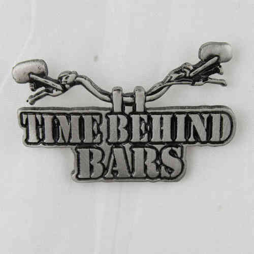 "Pin ""Time Behind Bars"" Anstecker"