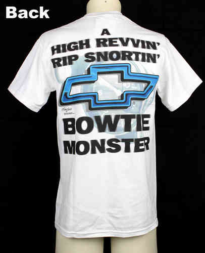 T-Shirt Chevrolet Bowtie Monster