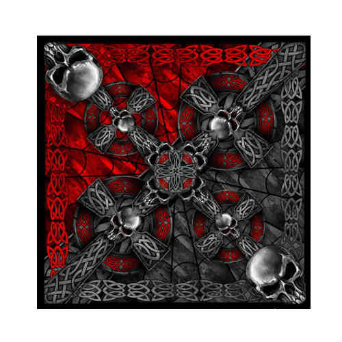 """Celtic Cross"" Bandana Tuch"