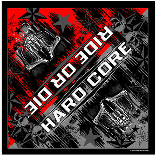 """Hardcore Teeth"" Bandana Tuch"