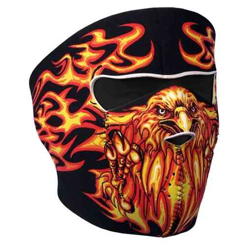 """Blazing Eagle"" Neopren - Face Mask"