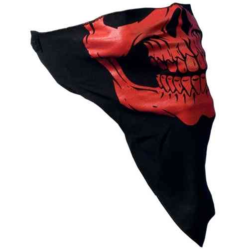 "Face Wrap ""Red Skull Face"""