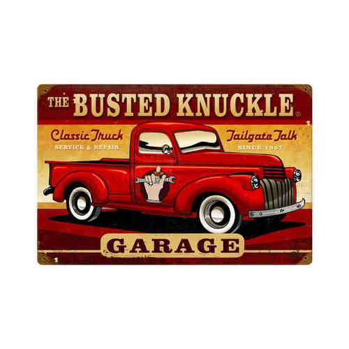 Classic Truck Blechschild - Metal Sign