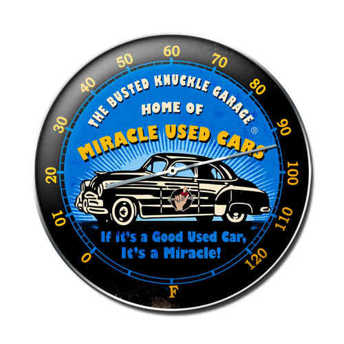Miracle Used Cars Uhr - Clock
