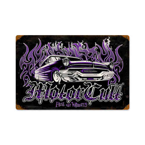 Hell on Wheels Blechschild - Metal Sign