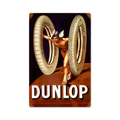 Dunlop God Blechschild - Metal Sign