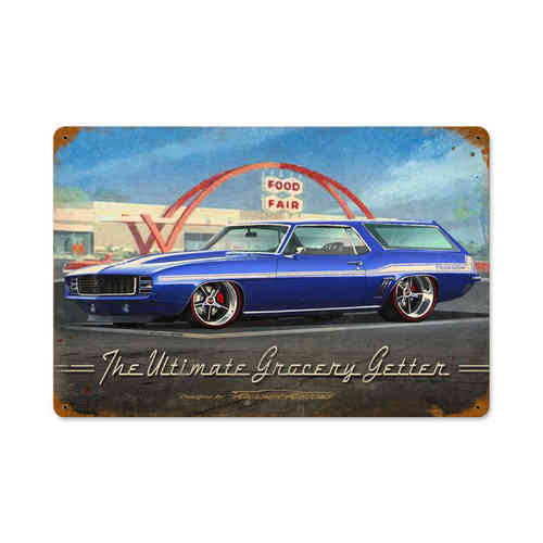 Ultimate Grocery Getter Blechschild - Metal Sign
