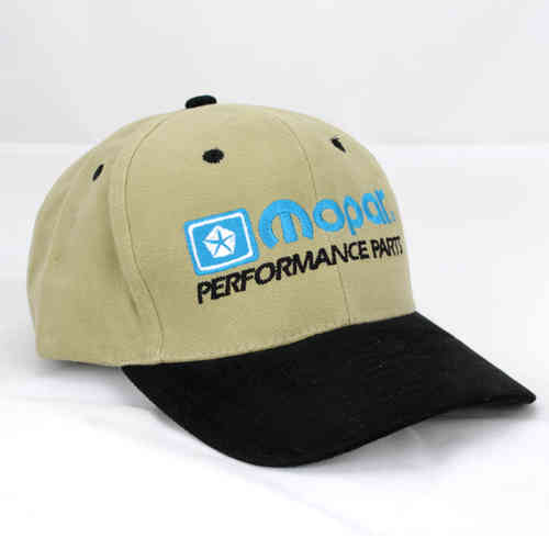 Mopar Performance Parts Baseball Cap - Black/Khaki