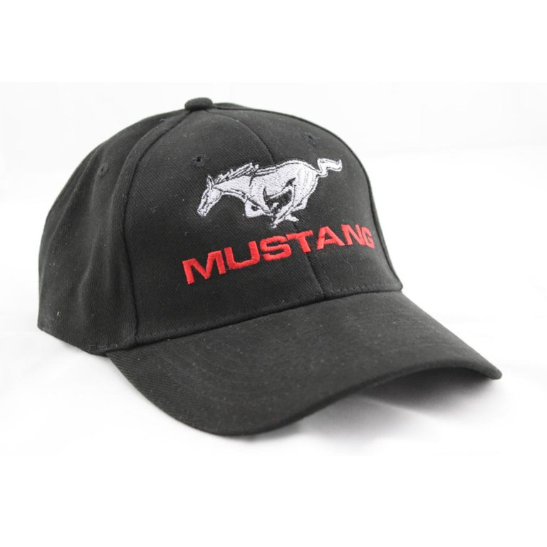 ford mustang pony logo baseball cap m tze. Black Bedroom Furniture Sets. Home Design Ideas