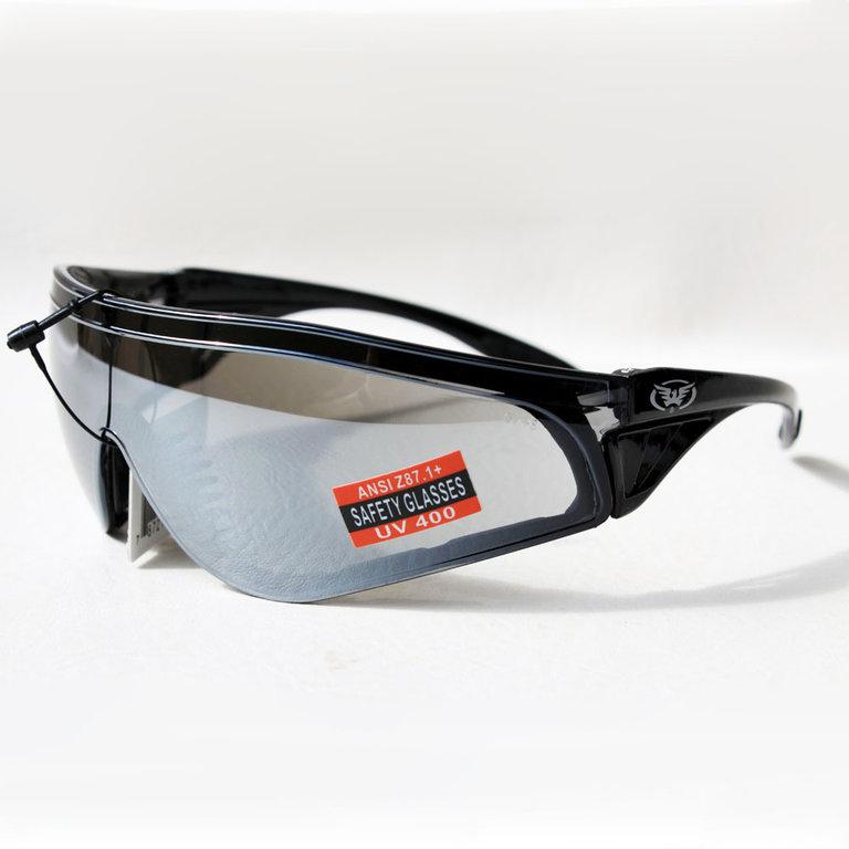 Biker Chopper Fahrrad Sport Brille Sonnenbrille Splitterfrei UV400 Verspiegelt eA2AH