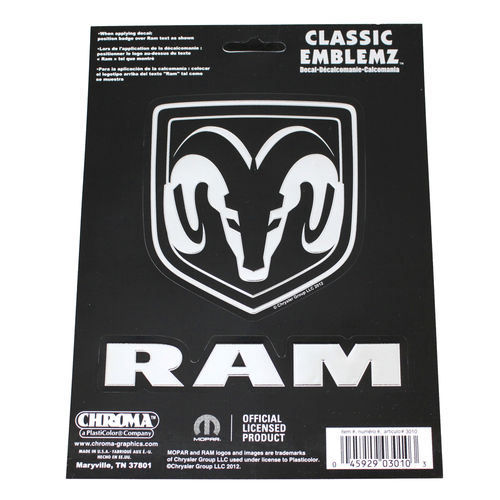 """Dodge RAM Classic"" - Aufkleber/Decal"