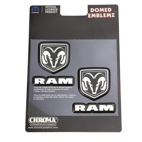 Dodge RAM Domed Emblem Aufkleber/Decal