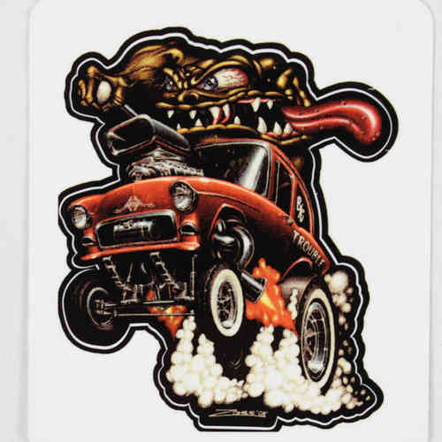 Monster and 55 Chevy Aufkleber/Decal