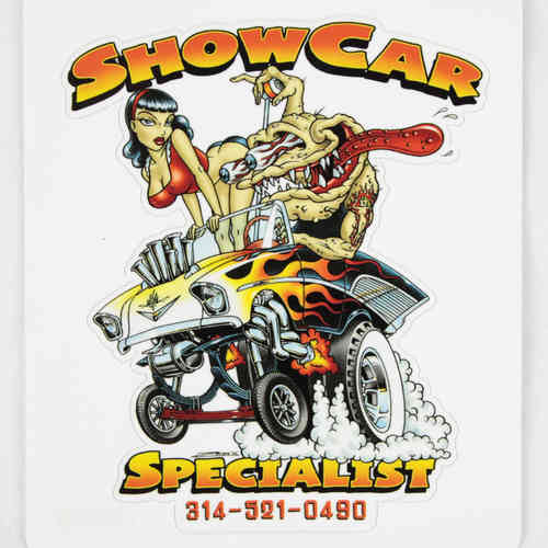 Show Car Specialist Aufkleber/Decal