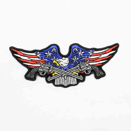 Biker Military Eagle Aufnäher/Patch