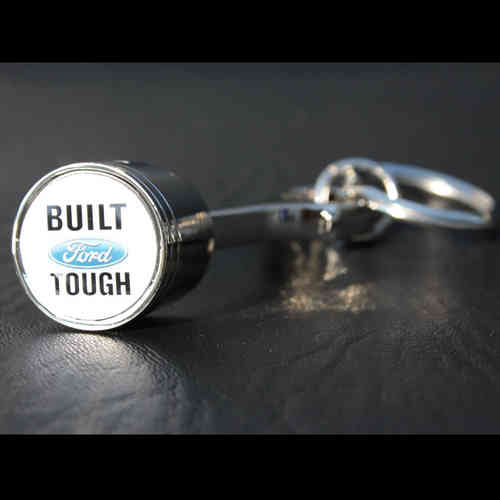 """Built Ford Tough"" Piston Keychain - Schlüsselanhänger"