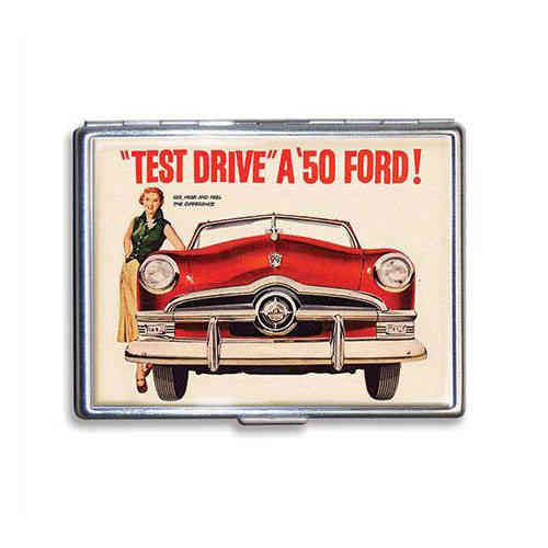Ford Test Drive `50 Zigarettenetui - Cigarette Case
