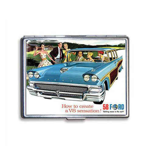 Ford `58 Fairlane Wagon Zigarettenetui - Cigarette Case