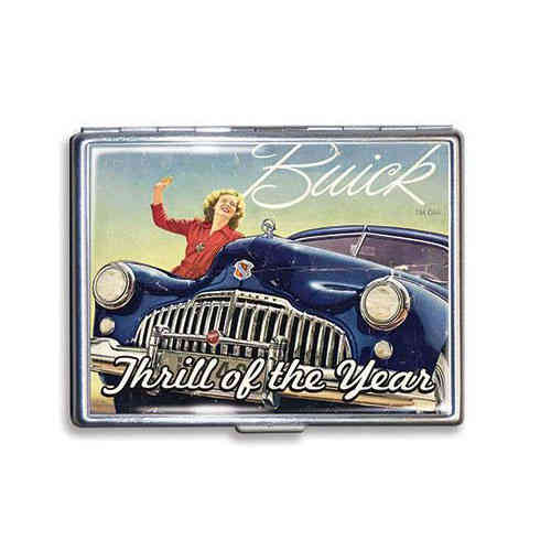 "GM Buick ""Thrill of the Year"" Zigarettenetui - Cigarette Case"