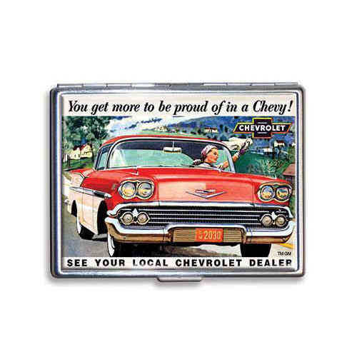 GM Chevrolet Zigarettenetui - Cigarette Case