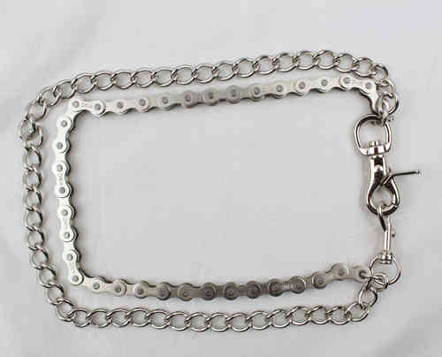 """Bike Chain & Shackle Doppelt"" Kette - Wallet Chain"