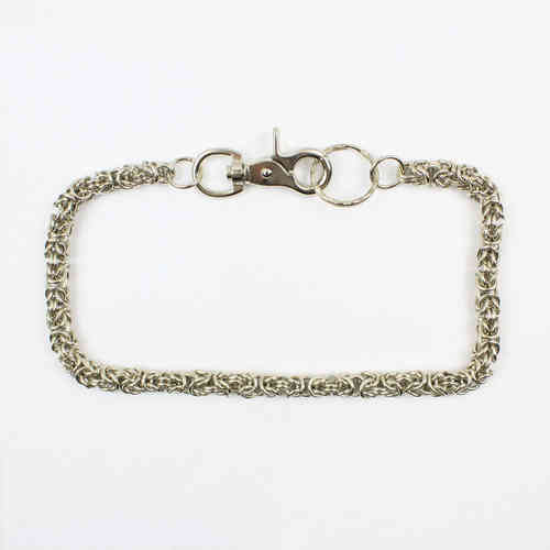 """Small Weave"" Kette - Wallet Chain"