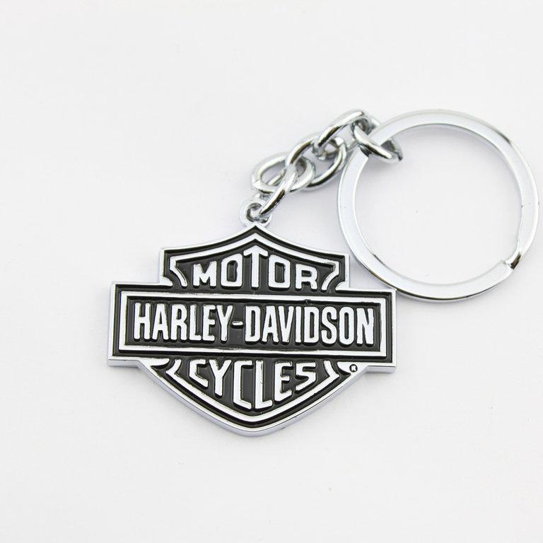 harley davidson bar shield keychain schl sselanh nger. Black Bedroom Furniture Sets. Home Design Ideas