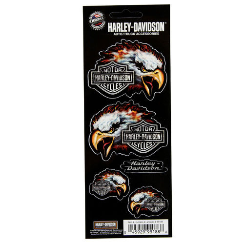 """Harley Davidson Bar & Shield Eagle"" - Aufkleber/Decal"