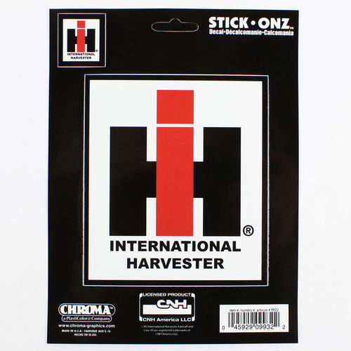 """International Harvester Farmall"" - Aufkleber/Decal"