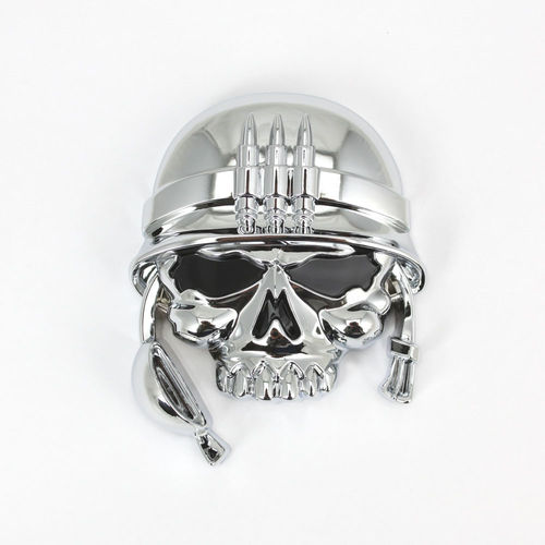"""Military Skull"" Emblem - Aufkleber/Decal"
