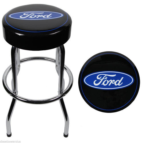 """Ford Logo"" Garage Stool - Barhocker"