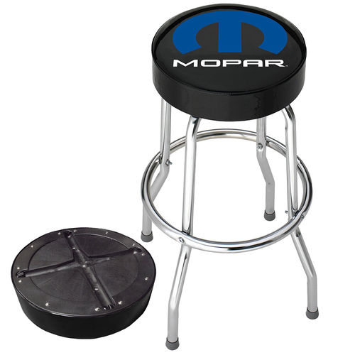 """Mopar Logo"" Garage Stool - Barhocker"