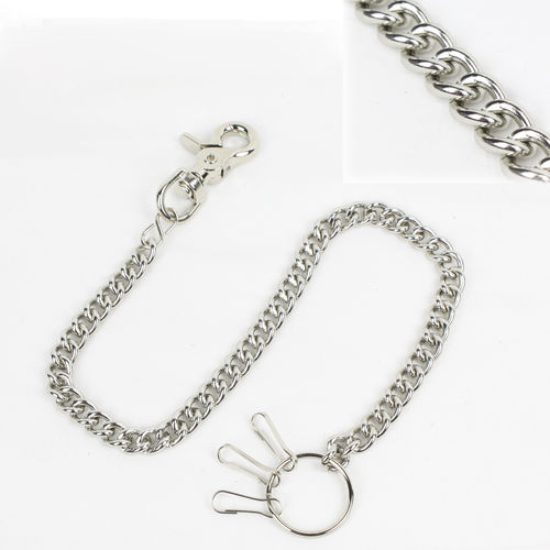 """Classic Chain w/ Claw Hook 54cm"" Kette - Wallet Chain"
