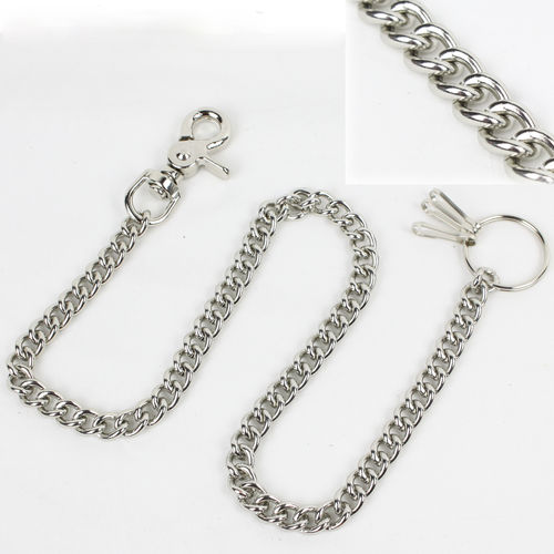 """Classic Chain w/ Claw Hook 68cm"" Kette - Wallet Chain"