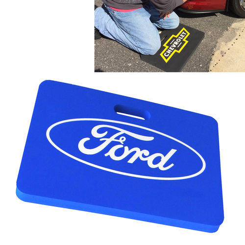 """Ford Oval Blue""  Kneeling Mat - Kniematte"