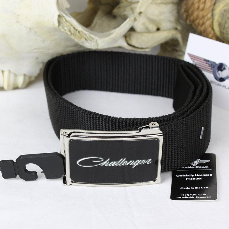 Dodge Charger Logo Mopar USA Web Belt Nylon Gürtel Textilgürtel Umfang bis 125cm