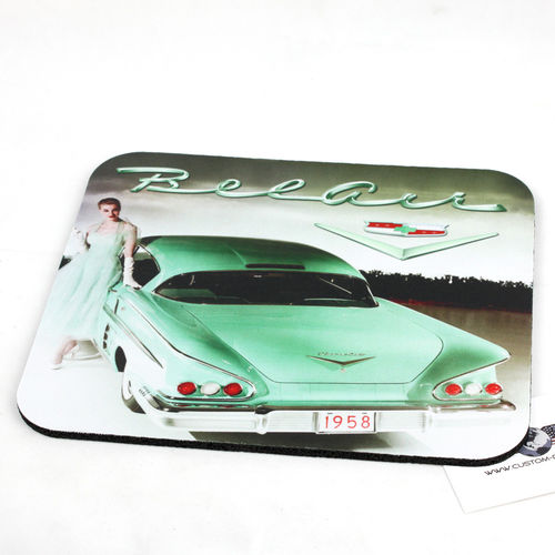 """58 Chevy Bel Air"" Mouse Pad - Mauspad"