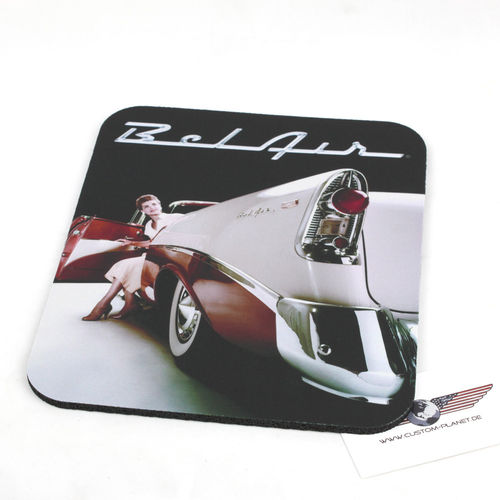 """56 Chevy Bel Air"" Mouse Pad - Mauspad"
