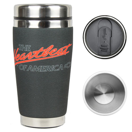"""Chevrolet Heartbeat of America"" Mugzie® Drink Cup - Thermobecher"