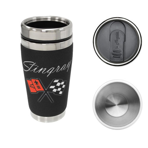 """Chevrolet Corvette Stingray"" Mugzie® Drink Cup - Thermobecher"