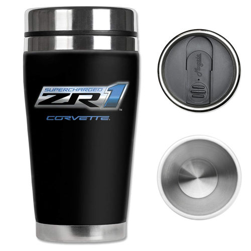 """Corvette ZR1 Supercharged"" Mugzie® Drink Cup - Thermobecher"