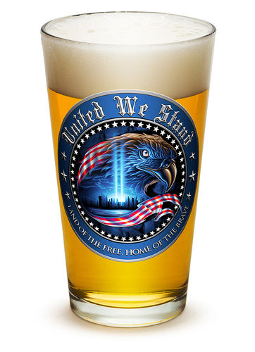"""United We Stand"" Pint Glass - Glas"