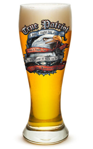 """True Patriot"" Pilsner Glass - Glas"