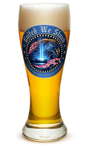 """United We Stand"" Pilsner Glass - Glas"