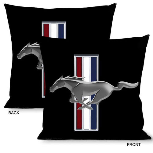 """Ford Mustang w/Bars"" Pillow - Kissen"