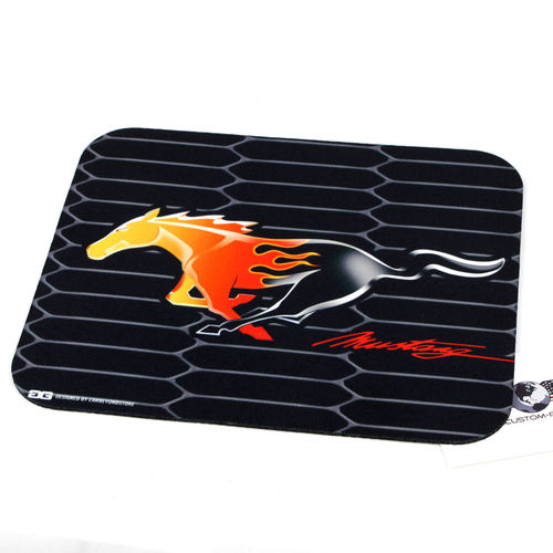 """Mustang Flame Horse"" Mouse Pad - Mauspad"